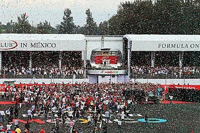 Formel-1-Grand-Prix von Mexiko: Siegerehrung noch spektakulärer als 2015