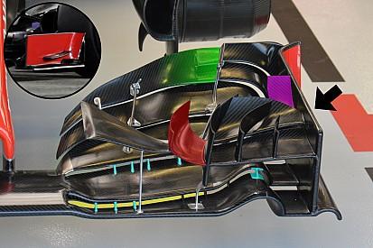 Formel-1-Technik: Neuerungen beim Grand Prix von Singapur