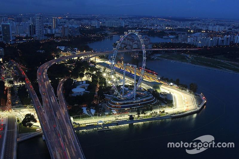 Circuito Callejero De Marina Bay : Los horarios del gp de singapur