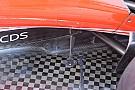 フェラーリ:フロントウイングの変更、フロアブラケットフィンの追加