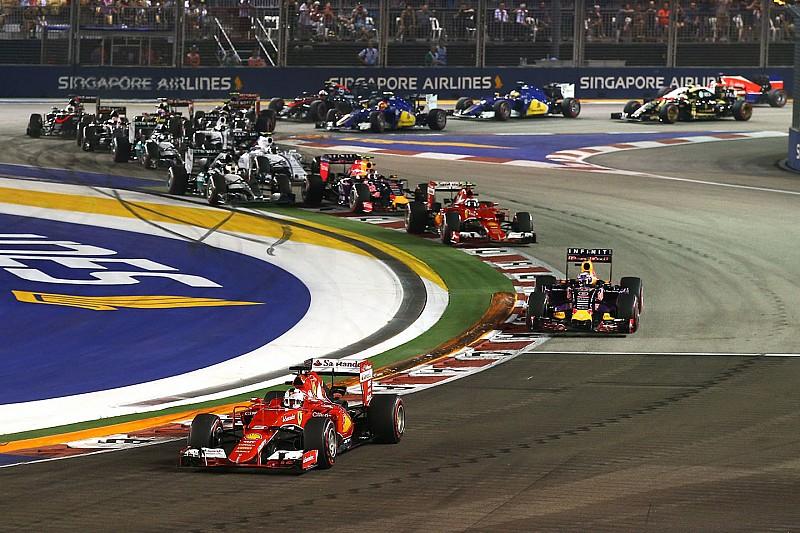 Confira os horários da Fórmula 1 para o GP de Cingapura