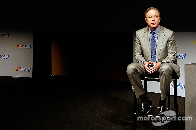 "Brian France: NASCAR ""on schedule"" with new title sponsor announcement"