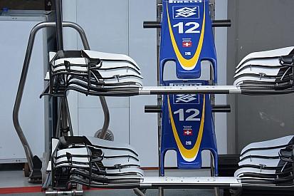 Analisis teknis ringkas: Sayap depan Sauber