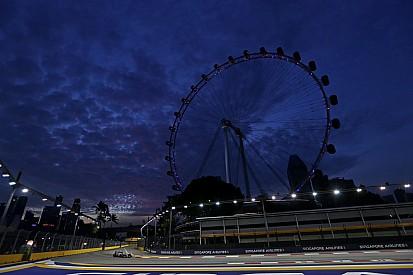 Rosberg primero y Hamilton con problemas en la FP2 de Singapur