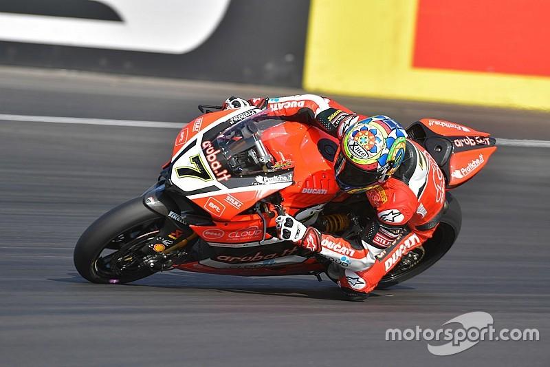 Ducati: Davies già veloce al Lausitzring. Giugliano più in difficoltà