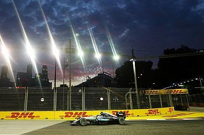 GP Singapura: Rosberg teratas, Hamilton alami masalah di FP2