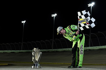 """Kyle Busch """"playing with house money,"""" not feeling any Chase pressure"""