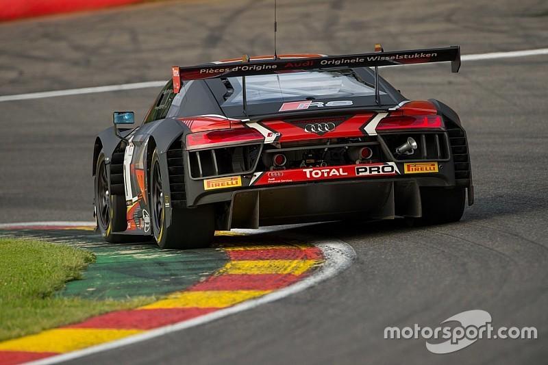 Dries Vanthoor mette davanti l'Audi nelle libere del Nurburgring