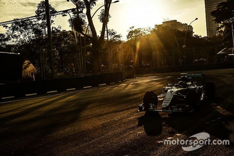 F1シンガポールGP FP3:FP3もロズベルグが好調のトップタイム。上位は僅差の三つ巴