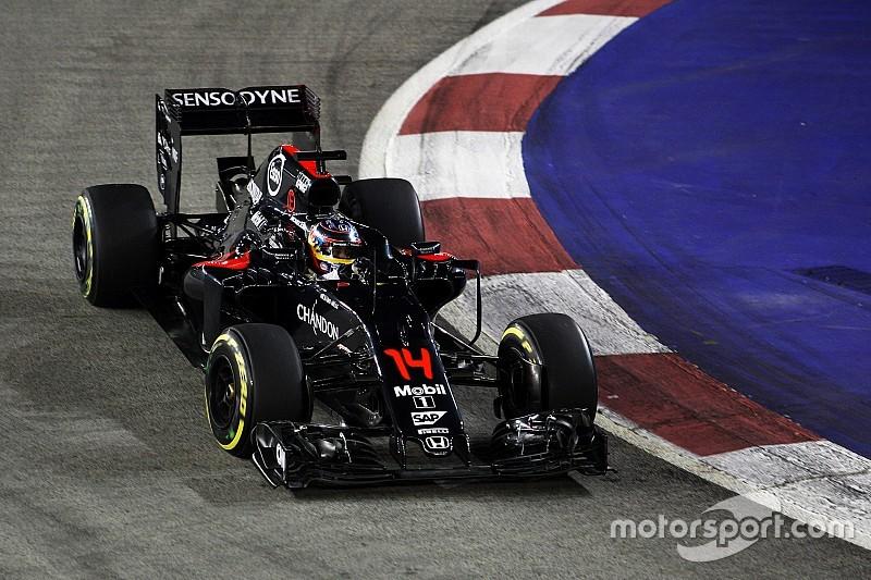 """Alonso, contento y a por """"buenos puntos"""""""