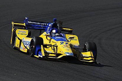 Andretti lidera la última práctica