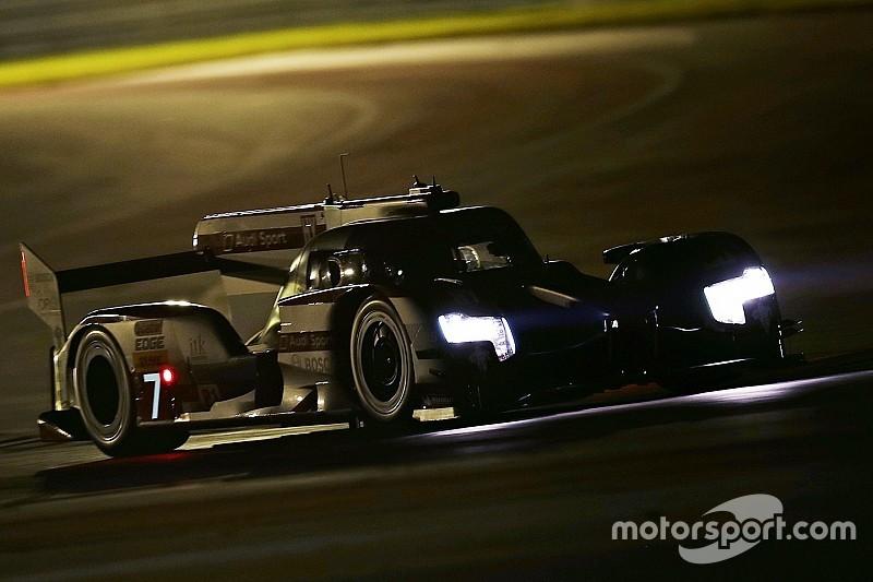 Austin, 5° Ora: per l'Audi si fa notte