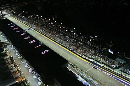 新加坡大奖赛排位赛图集