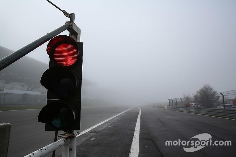 Qualifiche del Nurburgring posticipate: troppa nebbia sulla pista tedesca!