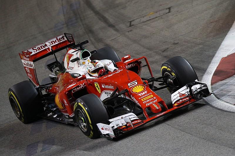 Ferrari ganti mesin dan girboks mobil Vettel