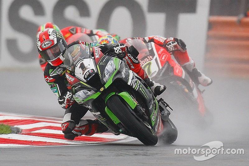 Superbike-WM Lausitz: Rea-Sieg und Sykes-Sturz bei Regen