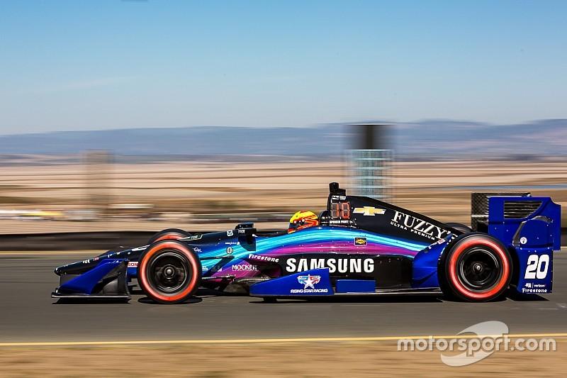 La grille de départ de la finale IndyCar de Sonoma