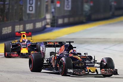 Verstappen nega pedido de ordem de equipe em luta com Kvyat