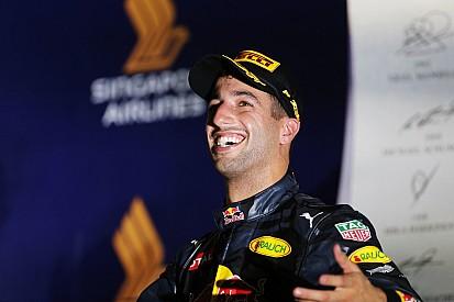 Ricciardo: posisi kedua yang sempurna di Singapura