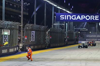 FIA selidiki pelanggaran prosedur insiden marshal di GP Singapura