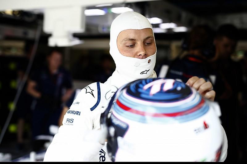 Alerta en Williams por el arnés de Bottas
