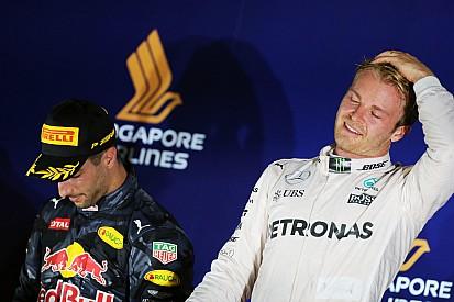 Вольф назвал выступление Росберга в Сингапуре лучшим в его карьере