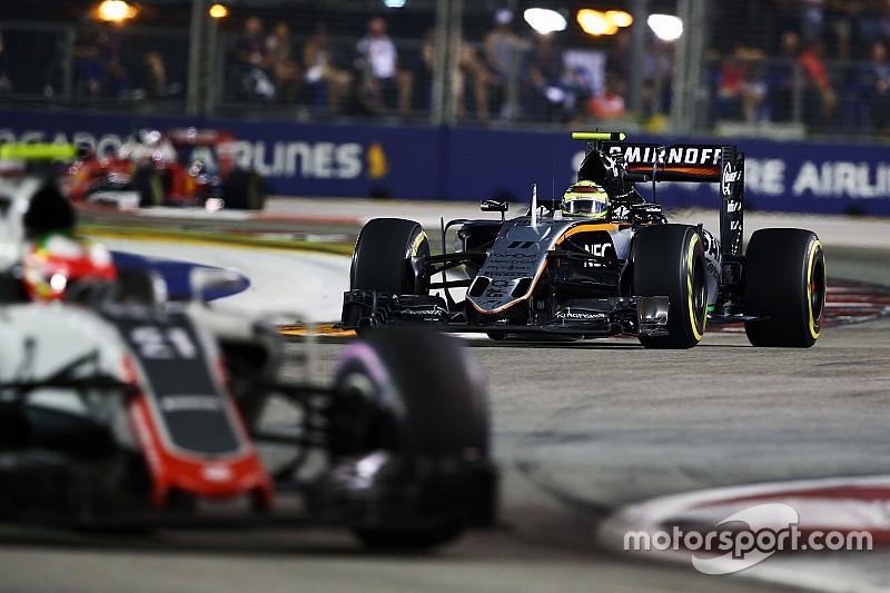 Перес назвал гонку в Сингапуре одной из лучших в своей карьере