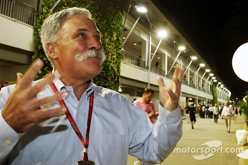 """F1新会長キャリー「私はF1を""""別のレベル""""に引き上げることができる」"""