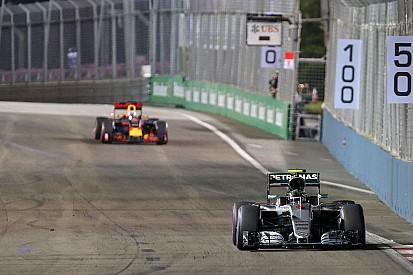 Les Mercedes n'avaient pas de problèmes de freins à Singapour