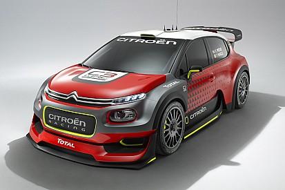Ecco le forme della Citroen C3 WRC. Sarà presentata al Salone di Parigi