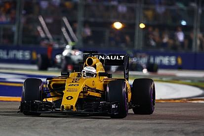 Magnussen ne pouvait pas boire pendant le GP de Singapour