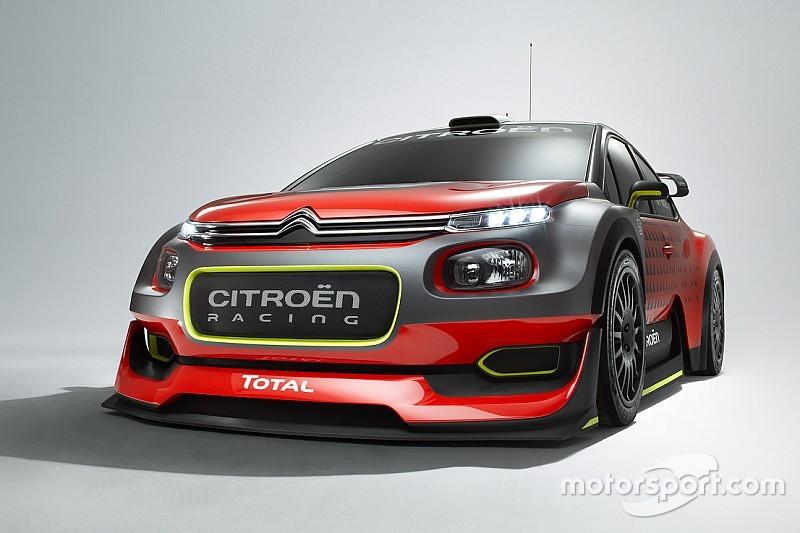 Bildergalerie: Citroën zeigt Designstudie für WRC-Auto 2017