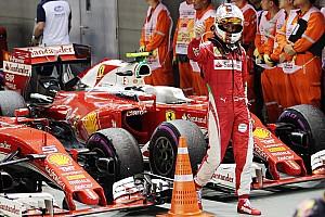 Formule 1 Actualités Vettel garde confiance pour que Ferrari termine deuxième