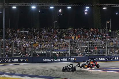 Le GP de Singapour a connu en 2016 sa plus faible affluence
