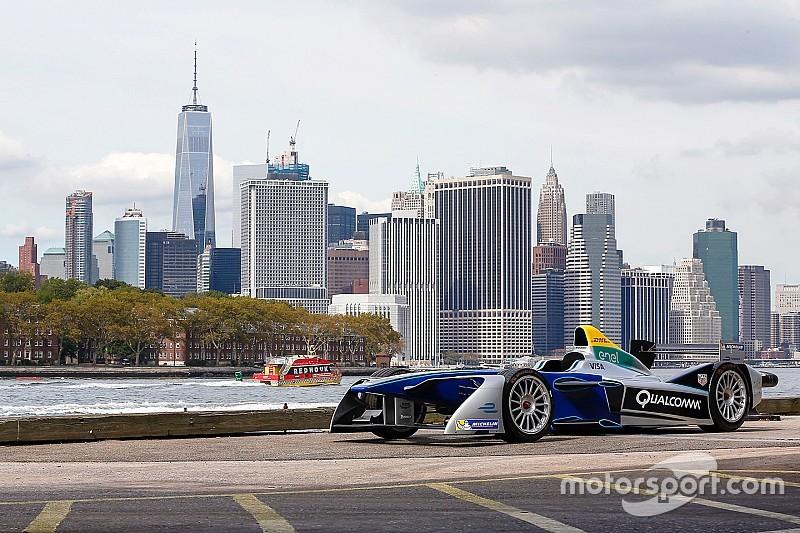 Formel E präsentiert neuen Stadtkurs in Brooklyn mit Manhattan als Kulisse