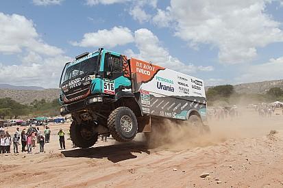 Ton van Genugten gaat voor eigen kansen in Dakar 2017