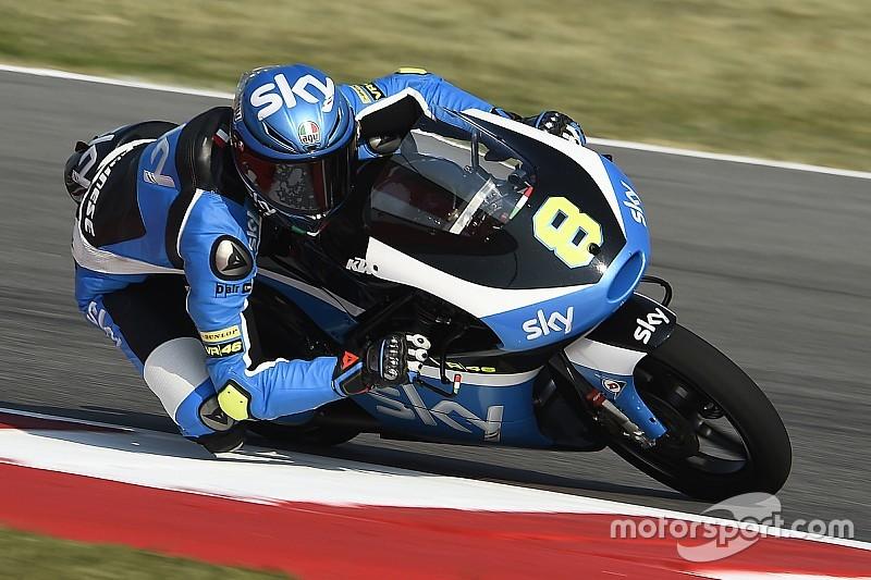 I piloti dello Sky Racing Team VR46 alla caccia del podio ad Aragon