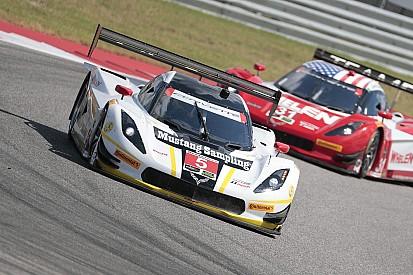 Pagenaud au départ du Petit Le Mans
