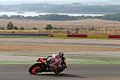 Márquez, por delante de Rossi en Motorland