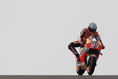 MotoGP Aragon: Marquez tercepat di FP1, Rossi kedua
