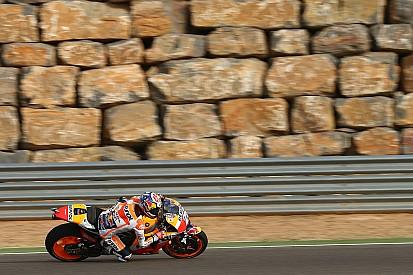 MotoGP Aragon: Cuma gününün lideri Pedrosa, Honda üçledi