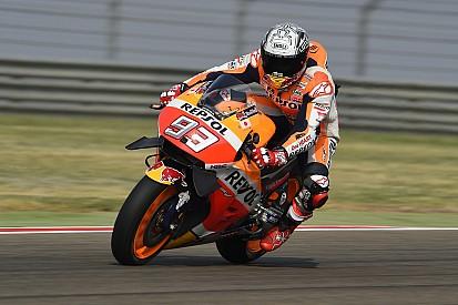 MotoGP Aragon: Meski terjatuh, Marquez masih tercepat di FP3