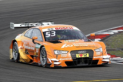 DTM Hungaroring: Audi domineert tweede training