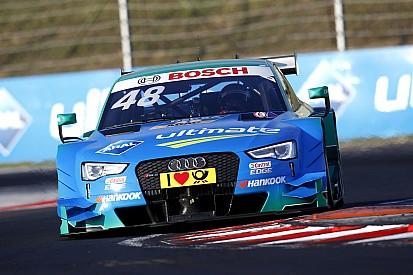 DTM in Budapest: Totale Audi-Dominanz im Qualifying, Pole für Mortara