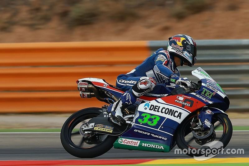 Bastianini op pole-position in Aragon, derde tijd Loi
