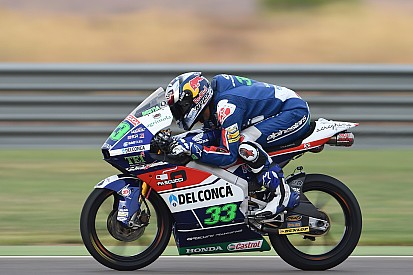 Moto3 Aragon: Bastianini pole position, Binder start ketujuh