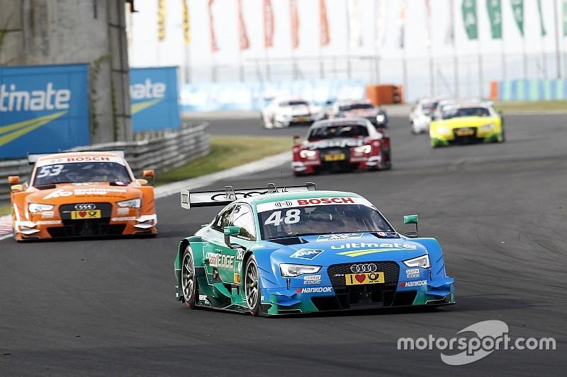 DTM in Budapest: Sechsfachsieg für Audi, Wittmanns Vorsprung schmilzt