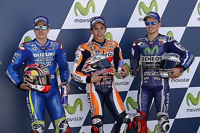 La parrilla del GP de Aragón