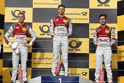 Molina acompañó a Mortara y Green en el podio de la Carrera 1