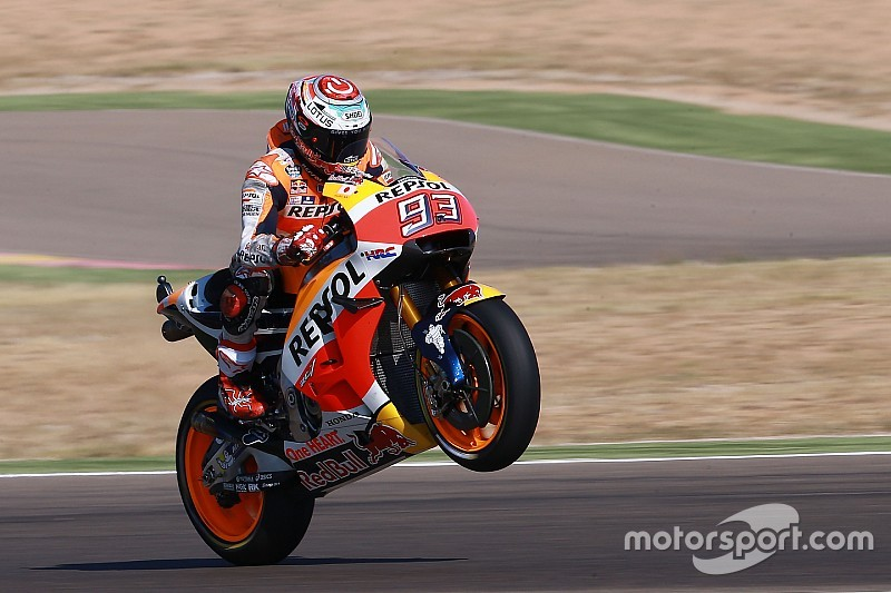 MotoGP in Aragon: Die Startaufstellung in Bildern
